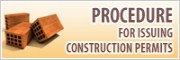 PROCEDURE for issuing construction permits